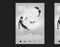 """Kaçış / Escape"" Poster Illustration"