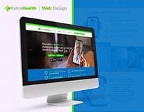 EXTRAHEALTH | WEB DESIGN • WEB DEVELOPMENT