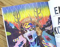 Illustration for HOHE LUFT magazine, Hamburg Germany