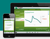 Easy Banking iPad and iPhone app / BNP Paribas Fortis