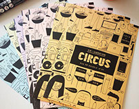 Circus Co-Working Flyer