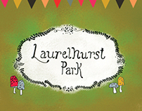 Laurelhurst Park - Illustrated Map