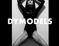 "photo project for the cover of ""DYMODELS"" magazine"