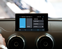 CRM app for Android Auto