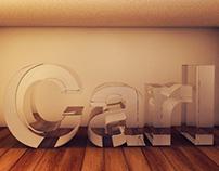Glass effect in Cinema 4D