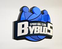 Byblos Sporting Club Logo Animation.