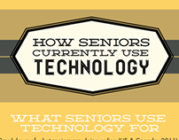 How Seniors Use Technology: Infographic