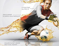 Gatorade G-Series Advertising Ad - Hope Solo