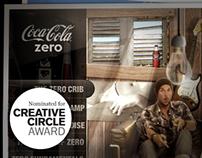 Coca-Cola Zero - digital launch campaign