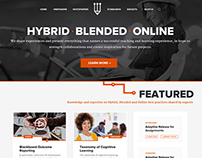 Hybrid and Blended Education Portal
