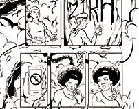 Portfólio - Quadrinhos #03 - O Umbroso