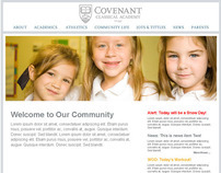 Covenant Classical Academy Web Design