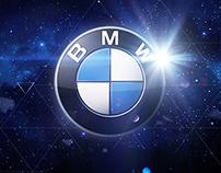 BMW X6 Projection Show