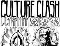 Captain America vs. Ultraman Tokyo Mini Comic