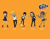 Fanta characters