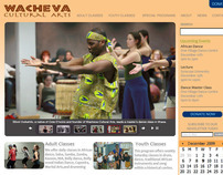 Wacheva Website Design
