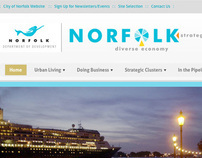 Norfolk Development website