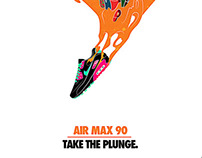Poster for Nike AIR MAX day poster design challenge.