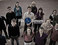 Pax et Bonum Chamber Choir | logo, website