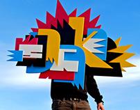 """""""graffiti"""" 3D"""