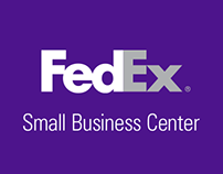FedEx Small Business Center Website Concepts