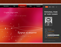 Personal page of Yuri Ivanov