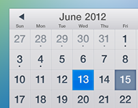 iOS Calendar for Fun