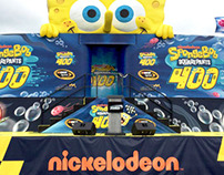 NICKELODEON: NASCAR Driver's Stage