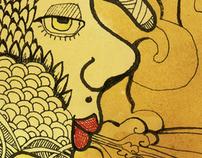 Drawings - PAREIDOLIAS Serie