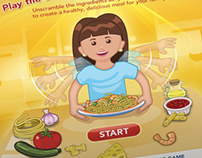 Barilla Recipe Scramble Game