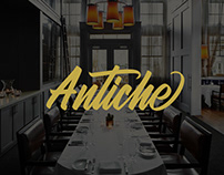 Antiche - Restaurant Website & Branding
