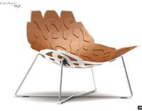 ROCHE BOBOIS - Alattice chair