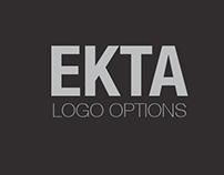 EKTA ( Team Unity) Logo Options