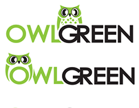 Owl Green [ Logo Design ]
