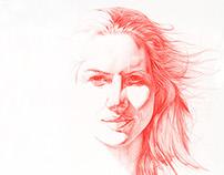 Claire (2014) 136 x 136cm, Daan Noppen