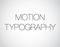 Motion Typography