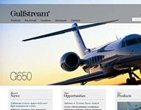 Gulfstream Site Redesign