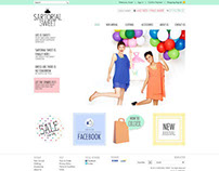 Sartorial Sweet - Website