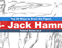 Top 20 Ways to Draw the Figure (4-Jack Hamm) Tutorial