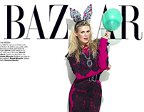 Alexandra Richards for Harper's BAZAAR Dec 2012
