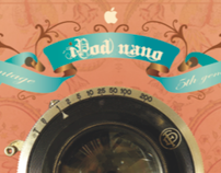 Vintage iPod box