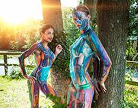 Bodypainting-Photography for Labarama