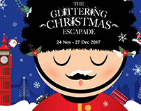 The Glittering Christmas 2017 Campaign Flyer