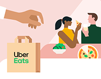 UberEats - Explainer Animation