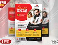 Business Flyer Design PSD Template