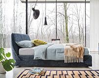Italian Design Bed