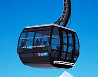 Solden Ski Resort Poster
