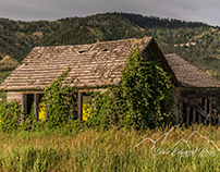 Old Ranch Houses, Loading Chutes, Windmills, & Mines