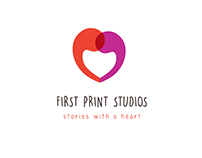 First print studios - Logo design