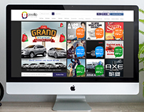 Pixelllo.com, Website Design